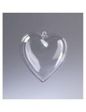 Заготовка сердце пластиковое разъемное, 6 см, EFCO (Германия)