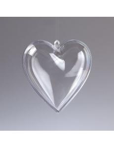 Заготовка сердце пластиковое разъемное, 8 см, EFCO (Германия)