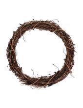 Заготовка венок декоративный плетеный, натуральная лоза, 25 см, EFCO (Германия)