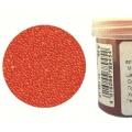 Микробисер прозрачный оранжевый, EFCO (Германия), 50г