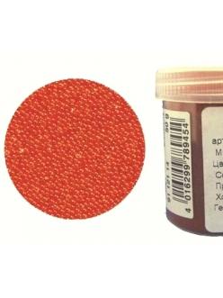 Микробисер прозрачный оранжевый, 50г, EFCO Германия