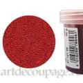 Микробисер прозрачный красный, EFCO (Германия), 50г
