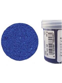 Микробисер прозрачный синий, 50г, EFCO Германия