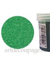 Микробисер прозрачный зеленый, EFCO (Германия), 50г