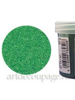 Микробисер прозрачный зеленый, 50г, EFCO Германия