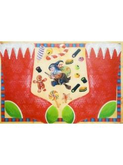 """Рисовая карта Esprimo Ferrario 2011 008 """"Чулок феи"""", 35х50 см, 10 г/м2"""
