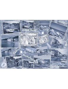 """Декупажная карта Esprimo Ferrario DECOUP033-05 """"Рыбацкие поселки"""", 50х70см"""