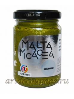 Паста структурная Malta эффект слюды, №03 кедровый, Esprimo Ferrario, 150 мл