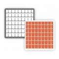 """Трафарет пластиковый Арт-модуль АМ-04 """"Черепица классическая"""" 15х15 см, Event Design"""