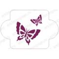 "Трафарет пластиковый EDDC040 ""Бабочки"", 10х10 см, Event Design"