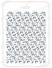 Трафарет для фона EDFN024, Растительный орнамент, 16х22 см, Event Design