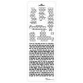 Трафарет двойной для фона Кирпичная кладка, Event Design, 11,5х32 см