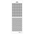 Трафарет двойной для фона Ажурная решетка, Event Design, 11,5х32 см