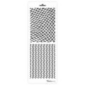 Трафарет двойной для фона Сетка и полоски, Event Design, 11,5х32 см