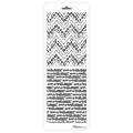 Трафарет двойной для фона Этнический узор, Event Design, 11,5х32 см