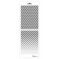 Трафарет двойной для фона Ромбы и рабица, Event Design, 11,5х32 см