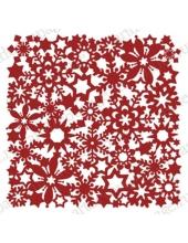 "Трафарет маска новогодний НГМСК-16 ""Орнамент из снежинок 2"", 15х15 см, Event Design"