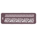 Трафарет бордюр EDTMB040 Незабудки, 10х32 см, Event Design
