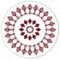 """Трафарет для росписи """"Круглый орнамент 09"""", Event Design, диаметр 15 см"""