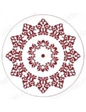 """Трафарет для росписи """"Круглый орнамент 12"""", Event Design, диаметр 15 см"""