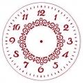 """Трафарет для часов пластиковый """"Циферблат 20"""", Event Design, диаметр 15 см"""