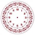 """Трафарет для часов пластиковый """"Циферблат 24"""", Event Design, диаметр 15 см"""