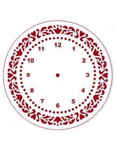 """Трафарет для часов пластиковый """"Циферблат 25"""", Event Design, диаметр 15 см"""