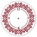 """Трафарет для часов пластиковый """"Циферблат 26"""", Event Design, диаметр 15 см"""