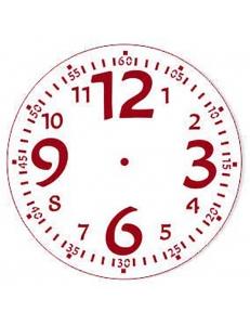 """Трафарет для часов пластиковый """"Циферблат 28"""", Event Design, диаметр 15 см"""