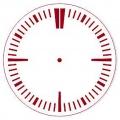 """Трафарет для часов пластиковый """"Циферблат 29"""", Event Design, диаметр 15 см"""