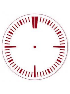 Трафарет для часов Циферблат 29, Event Design, диаметр 15 см