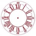 """Трафарет для часов пластиковый """"Циферблат 30"""", Event Design, диаметр 15 см"""