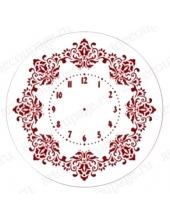 """Трафарет для росписи ELG25-09 """"Циферблат Элегант 09"""", Event Design, диаметр 25см"""