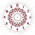 """Трафарет для росписи ELG25-13 """"Циферблат Элегант 13"""", Event Design, диаметр 25см"""