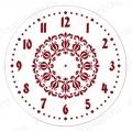 """Трафарет для росписи ELG25-17 """"Циферблат Элегант 17"""", Event Design, диаметр 25см"""