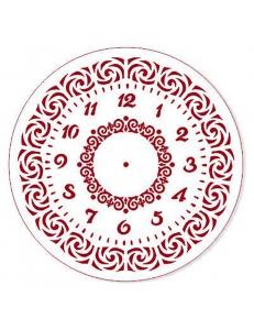 """Трафарет для росписи """"Циферблат Элегант 20"""", Event Design, диаметр 25см"""