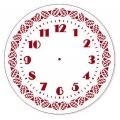 """Трафарет для росписи """"Циферблат Элегант 23"""", Event Design, диаметр 25см"""