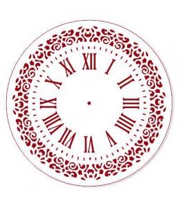 """Трафарет для росписи """"Циферблат Элегант 24"""", Event Design, диаметр 25см"""