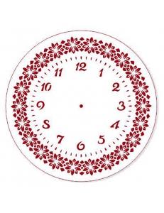 """Трафарет для росписи """"Циферблат Элегант 25"""", Event Design, диаметр 25см"""