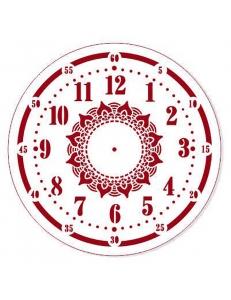 """Трафарет для росписи """"Циферблат Элегант 26"""", Event Design, диаметр 25см"""