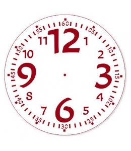 """Трафарет для росписи """"Циферблат Элегант 27"""", Event Design, диаметр 25см"""