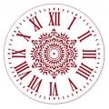 """Трафарет для росписи """"Циферблат Элегант 28"""", Event Design, диаметр 25см"""