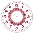 """Трафарет для росписи """"Циферблат Элегант 34"""", Event Design, диаметр 25 см"""