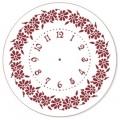 """Трафарет для часов пластиковый, циферблат """"Элегант 107"""", Event Design, диаметр 30см"""