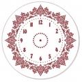 """Трафарет для часов пластиковый, циферблат """"Элегант 111"""", Event Design, диаметр 30см"""