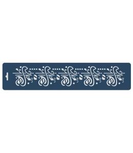 "Трафарет бордюр ""Орнамент модерн"", 10х47 см, Event Design"