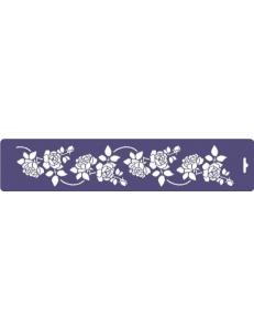 "Трафарет бордюр ""Розы"", 10х47 см, Event Design"