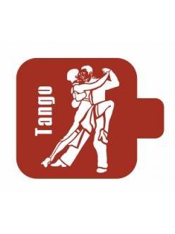 Трафарет для росписи Модуль Люди Танго, 9х9 см, Event Design