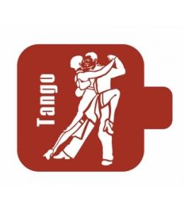 """Трафарет пластиковый Модуль Люди М9Лд-29 """"Танго"""" 9х9 см, Event Design"""