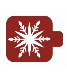 """Трафарет пластиковый Модуль Новый год М9Нг-153 """"Рождественская снежинка"""" 9х9 см, Event Design"""